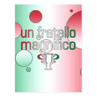 La bandera de la O.N.U Fratello Magnifico Italia Tarjetas Postales