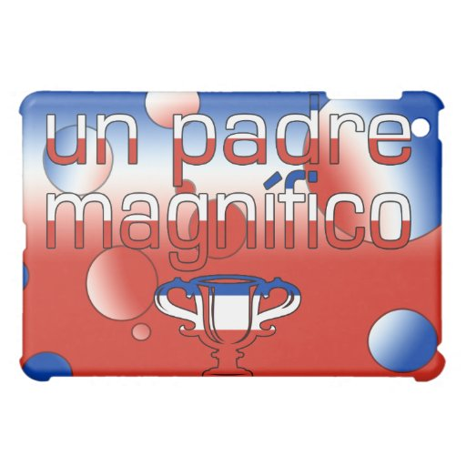 La bandera de la O.N.U Padre Magnífico Chile color