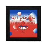 La bandera de la O.N.U Padre Magnífico Chile color Cajas De Regalo