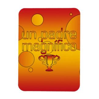 La bandera de la O N U Padre Magnífico España colo Imán De Vinilo