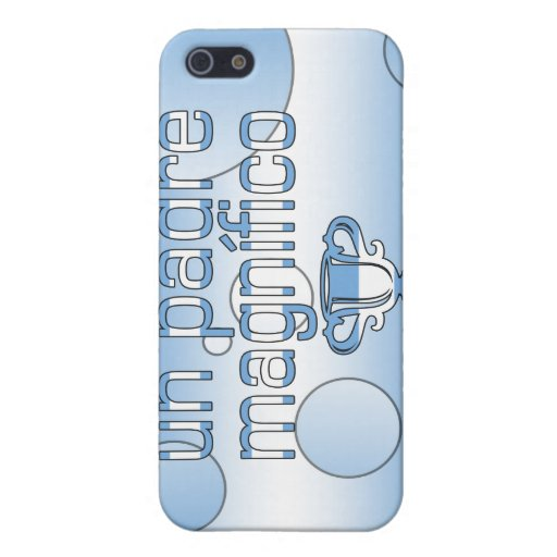 La bandera de la O.N.U Padre Magnífico la Argentin iPhone 5 Funda