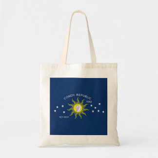 La bandera de la república de la concha bolsa lienzo