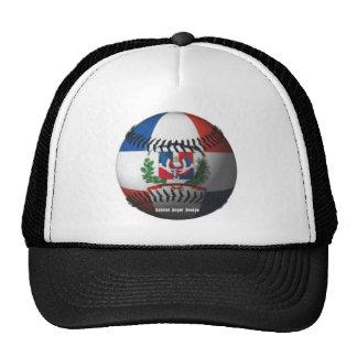 La bandera de la República Dominicana cubrió béisb Gorras