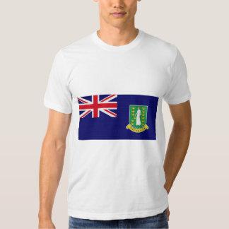 La bandera de las Islas Vírgenes británicas Camisas