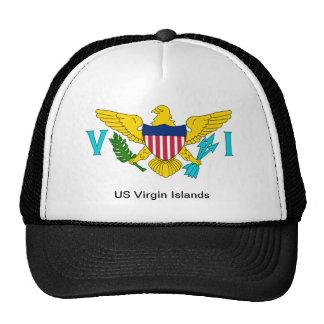 La bandera de las Islas Vírgenes de los E.E.U.U. Gorros Bordados
