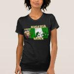 La bandera de las señoras africanas 2010 de camiseta