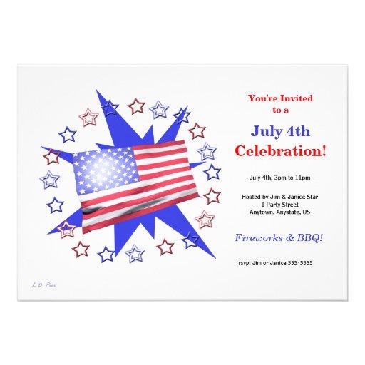 La bandera de los E.E.U.U. protagoniza la celebrac Comunicados Personalizados