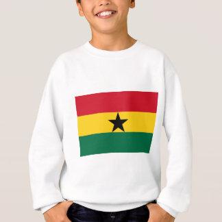 La bandera de los productos de Ghana Sudadera