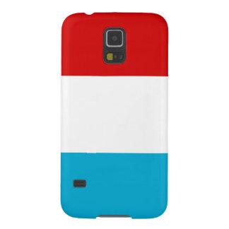 La bandera de Luxemburgo Funda Para Galaxy S5