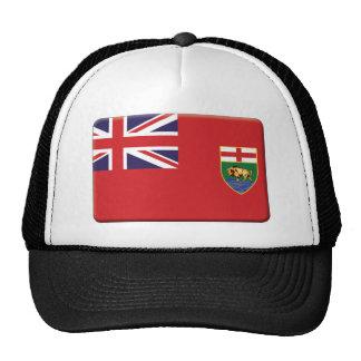 La bandera de Manitoba PERSONALIZA Gorra