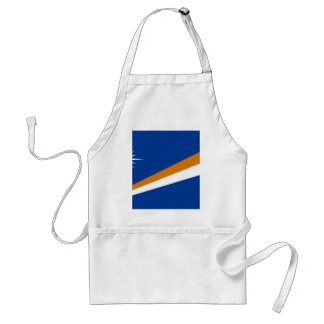 La bandera de Marshall Islands Delantal