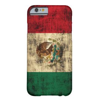 La bandera de México apenó la caja del iPhone 6 Funda Para iPhone 6 Barely There