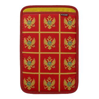 La bandera de Montenegro Funda MacBook