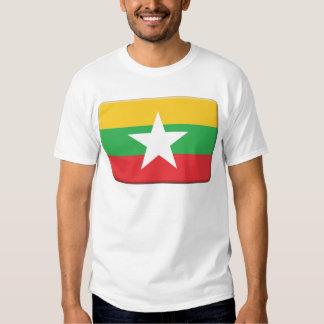 La bandera de Myanmar PERSONALIZA Camisas