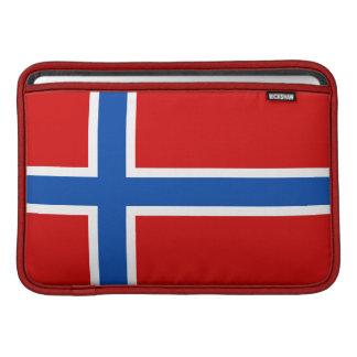 La bandera de Noruega Funda MacBook