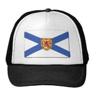 La bandera de Nueva Escocia PERSONALIZA Gorra