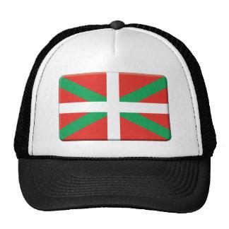 La bandera de país vasca PERSONALIZA Gorro De Camionero