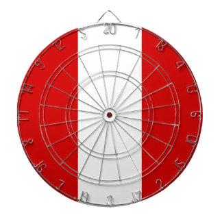 La bandera de Perú Tablero Dardos