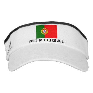 La bandera de Portugal se divierte el gorra del Visera