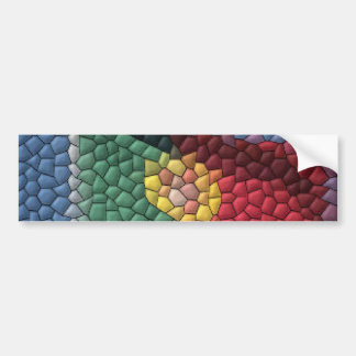 La bandera de Portugal tejó a la pegatina para el  Pegatina Para Auto