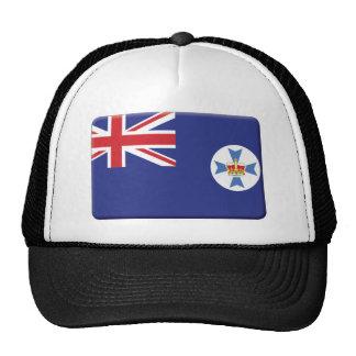 La bandera de Queensland PERSONALIZA Gorro De Camionero