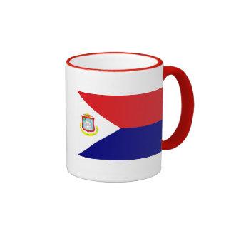 La bandera de San Martín Taza A Dos Colores