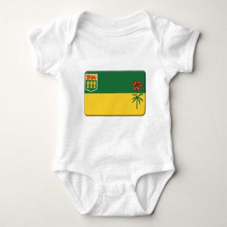 La bandera de Saskatchewan PERSONALIZA Tee Shirts