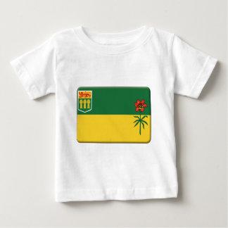 La bandera de Saskatchewan PERSONALIZA Camisetas