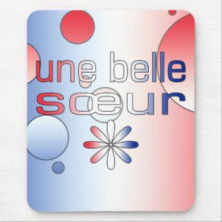 La bandera de Sœur Francia de la belleza de Une Alfombrilla De Ratones