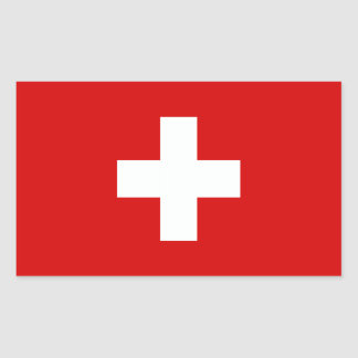 La bandera de Suiza Rectangular Altavoces