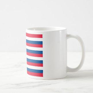 La bandera de Sullivan (milicia de Rhode Island) Taza De Café