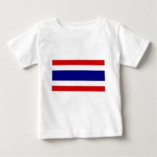 La bandera de Tailandia Playera De Bebé