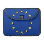 La bandera de unión europea/UE señala por medio de Funda Para Macbook Pro