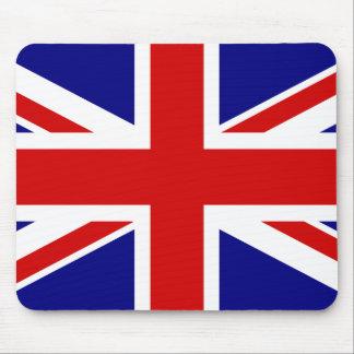 La bandera de Union Jack Alfombrilla De Ratones