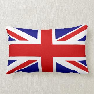 La bandera de Union Jack Cojines
