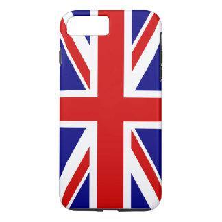 La bandera de Union Jack del Reino Unido - Reino Funda iPhone 7 Plus