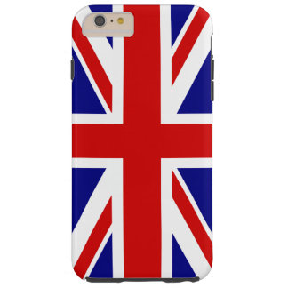 La bandera de Union Jack del Reino Unido - Reino Funda Resistente iPhone 6 Plus