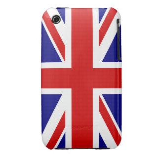 La bandera de Union Jack iPhone 3 Cárcasa