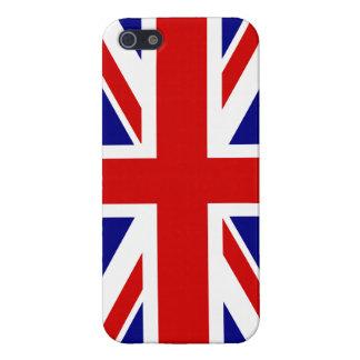 La bandera de Union Jack iPhone 5 Protectores