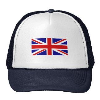 La bandera de Union Jack Gorra