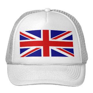 La bandera de Union Jack Gorras De Camionero