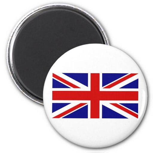La bandera de Union Jack Imán Redondo 5 Cm