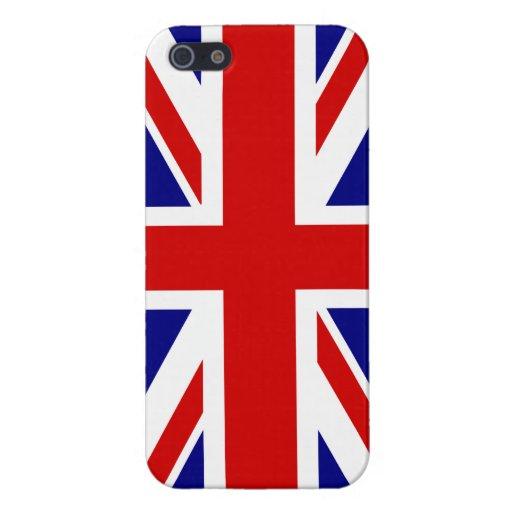 La bandera de Union Jack iPhone 5 Carcasas