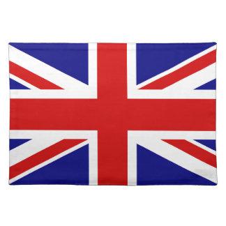 La bandera de Union Jack Mantel