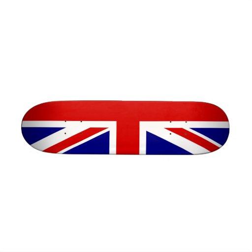 La bandera de Union Jack Patín