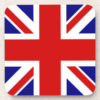 La bandera de Union Jack Posavaso
