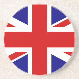 La bandera de Union Jack Posavasos Diseño