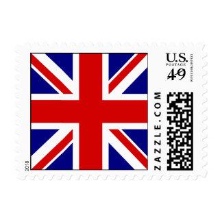 La bandera de Union Jack Timbres Postales