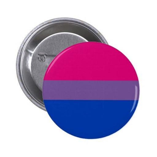 La bandera del BI vuela para el orgullo bisexual Pin