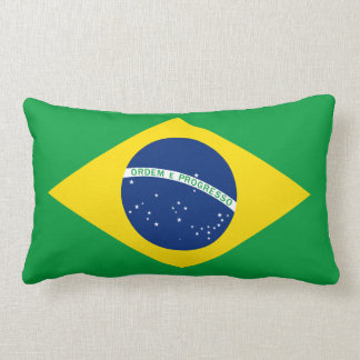 La bandera del Brasil Almohadas